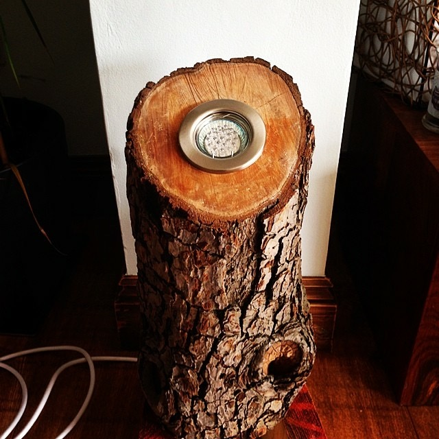 Log Lamp Stage 2