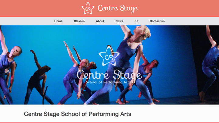 Centre Stage Homepage