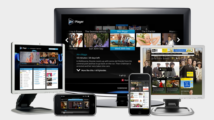 ITV Player Old Platform Designs