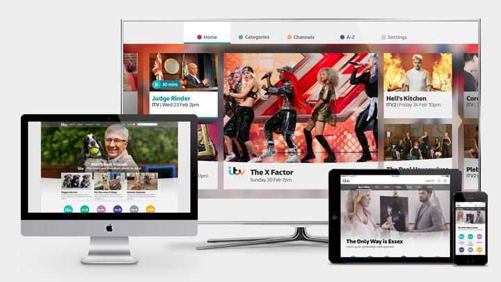 ITV Hub Platform Designs