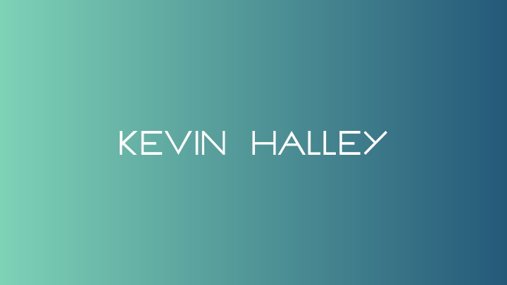 Kevin Halley Typeface